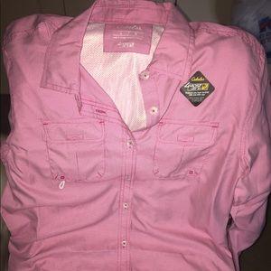 Cabela's fishing shirt